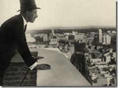 Alfonso XIII en la Gran Vía