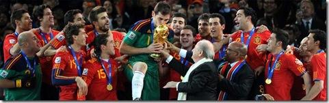 españa campeón del mundial de fútbol 2010