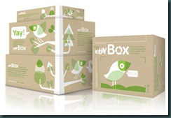 ebay, ebay boxes, eco-friednly shipping boxes