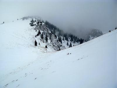 Der Schnee ist nicht weg, er ist nur wo anderst