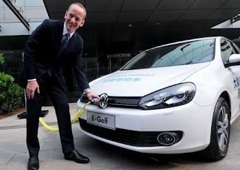 大众CEO示范电动车