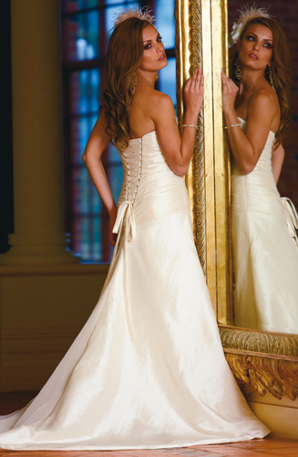 modern bridal gown 2010