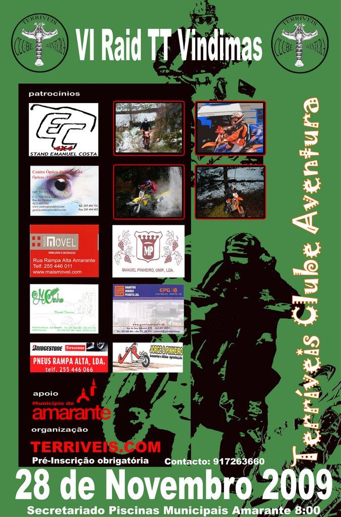 IV Raid TT Amarante 28 Novembro Cartaz2009_v3%20copy