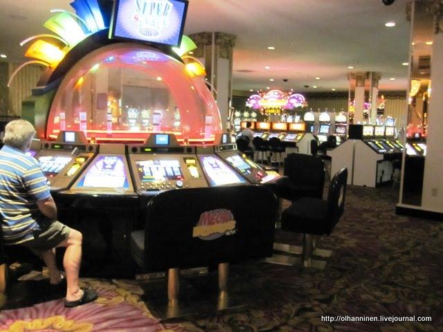 В Лас-Вегасе существуют специальные отели-казино