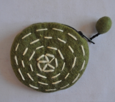 Felt coin Purse