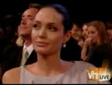 Angelina Jolie Side Eye On Anne Hathaway At The Critics Choice Awards 2009 picture