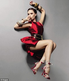 Victoria Beckham on Russian Vogue February 2009 Picture