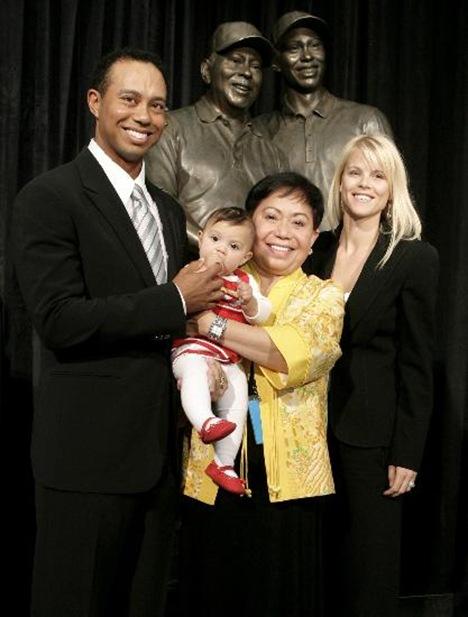Elin Nordegren Tiger Woods daughter Sam Alexis Woods photo