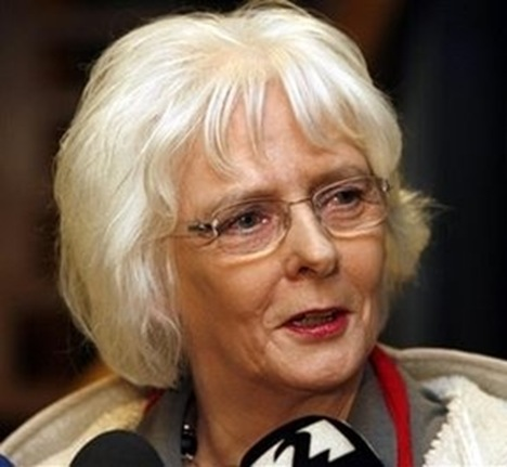 First gay prime minister Johanna Sigurdardottir pic