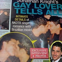 Jonathan Knight Ex Gay Lover Kyle Wilker Exposed Their Intimate Photos To Public