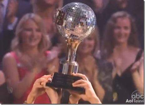 Nicole Scherzinger Derek Hough WON DWTS 2010