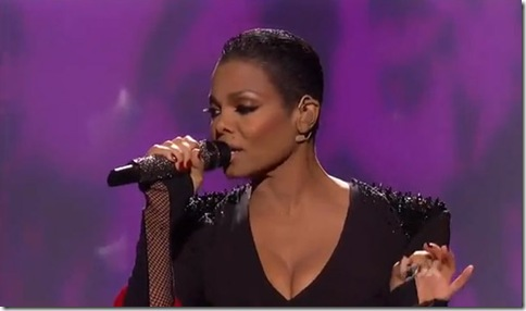 Janet Jackson New Haircut on American Idol