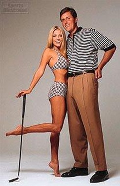 Phil Mickelson and wife Amy Mickelson Picture
