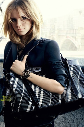 Emma Watson Burberry Campaign photos: Emma Watson, the 19-year-old Harry