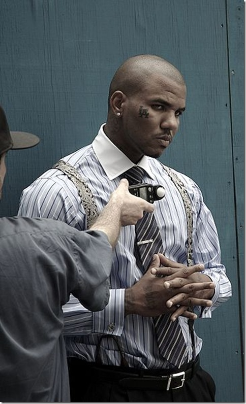 Rapper The Game Photo by Mikko Koponen