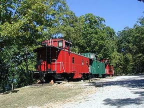 Caboose junction resort in missouri for Devils elbow fishing resort