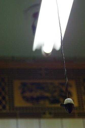 [非專業]下雨下到我心痛之抗日光燈耀光測試