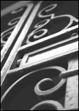 iron door b&w