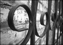 iron gate b&w