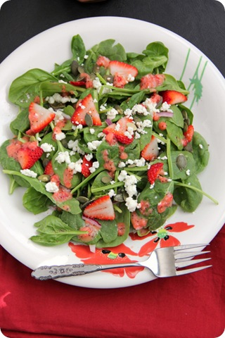 Strawberry Poppyseed Vinaigrette 3
