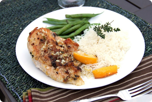 Lemony Chicken Breasts