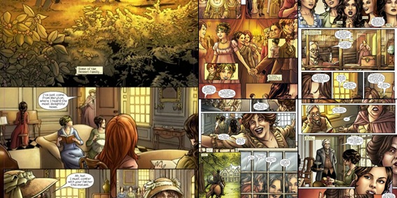 View Pride & Prejudice Marvel Comic