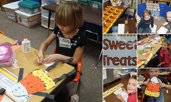 View Candy Corn Centers and Art