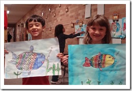 Rainbow Fish end of school 011