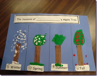 Seasons of An Apple Tree 002
