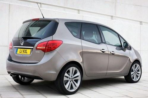 New minivan Opel Meriva