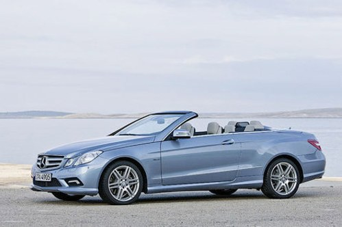The German magazine has declassified cabriolet Mercedes-Benz E-Class