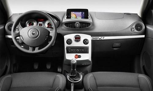 Interior Renault Clio S