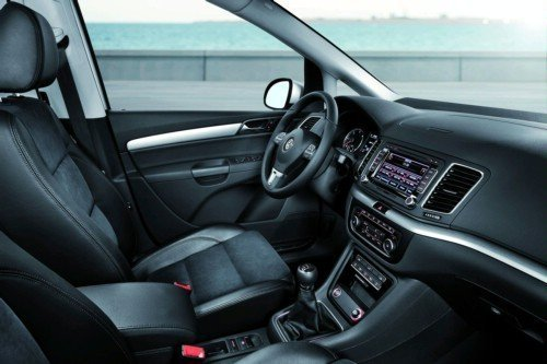 New interior Volkswagen Sharan