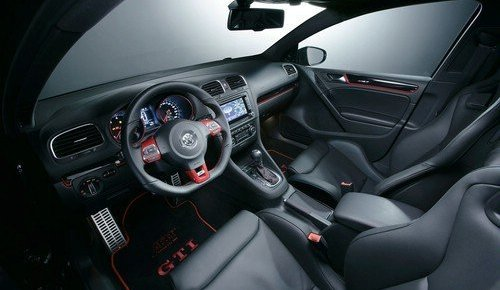 Interior hatchback Volkswagen Golf