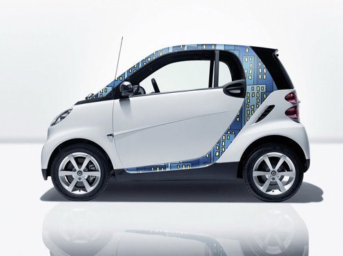 Compact car Fortwo