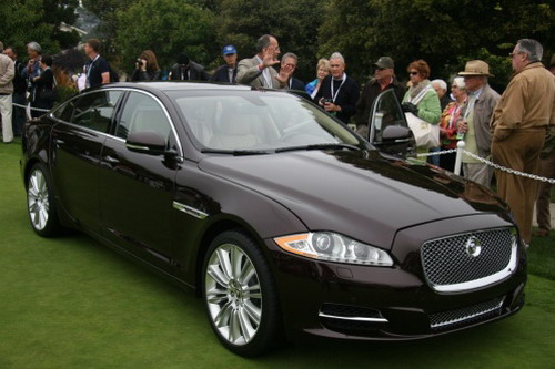 To the USA have presented Jaguar XJ 2010