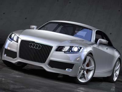 Audi develops four-door coupe R7