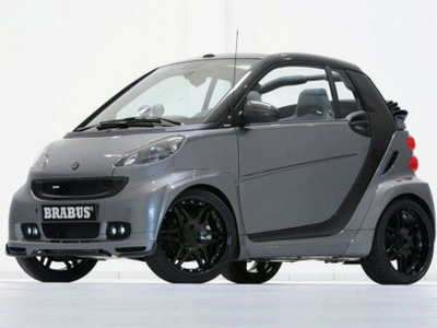 Brabus has shown the variant of electromobile Smart