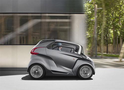 Company Peugeot has presented a supernumerary electrocar