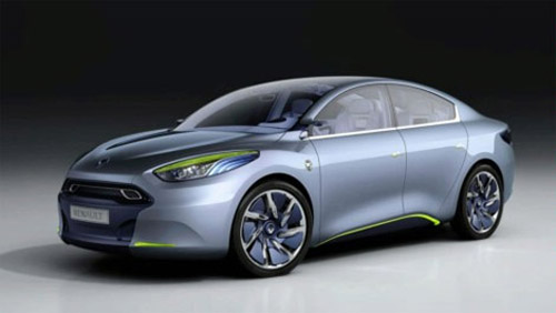 In Frankfurt have presented concept cars Renault