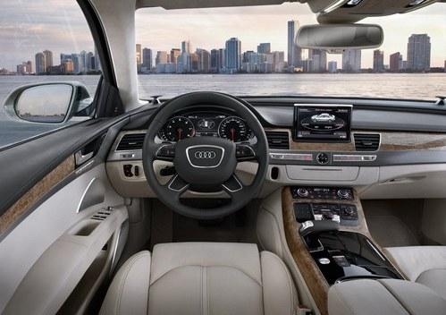 Interior sedan A8