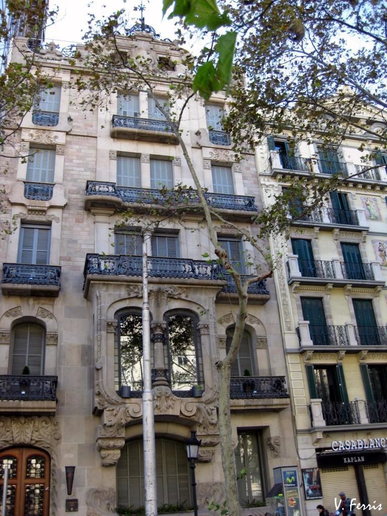 Casa bonaventura ferrer barcelona modernista - Casas modernistas barcelona ...