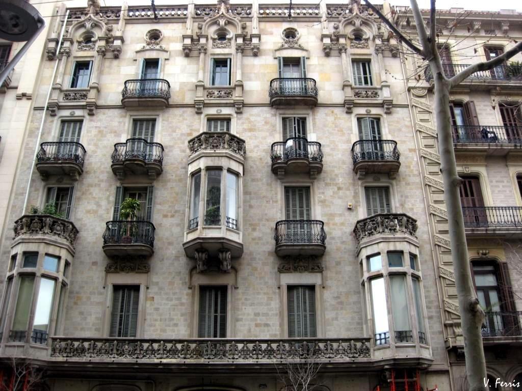 Casa francesc farreras barcelona modernista - Casa modernista barcelona ...