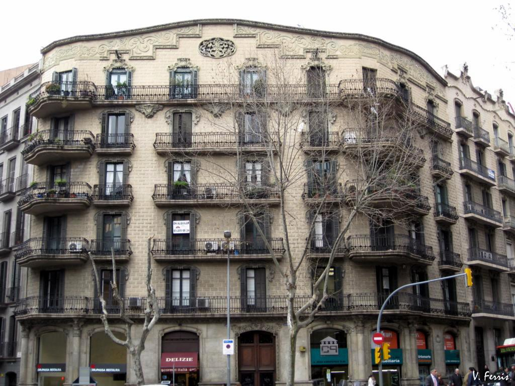 Casa josep filella barcelona modernista - Casa modernista barcelona ...