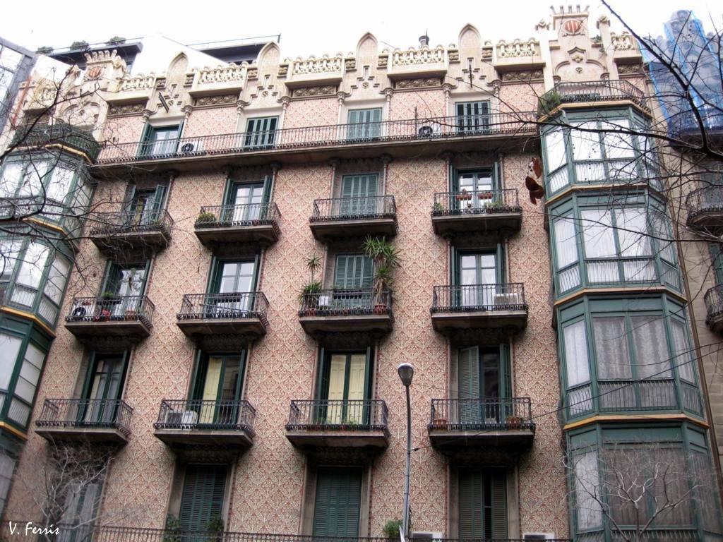 Casas joaquim cabot barcelona modernista - Casa modernista barcelona ...