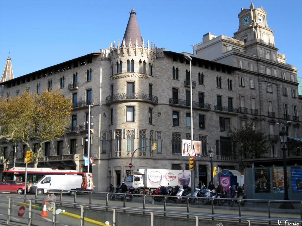 Casas pons y pascual barcelona modernista - Casa modernista barcelona ...