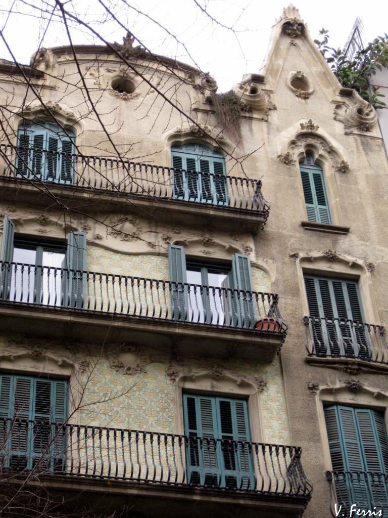 Casas rafael barba barcelona modernista - Casas modernistas barcelona ...