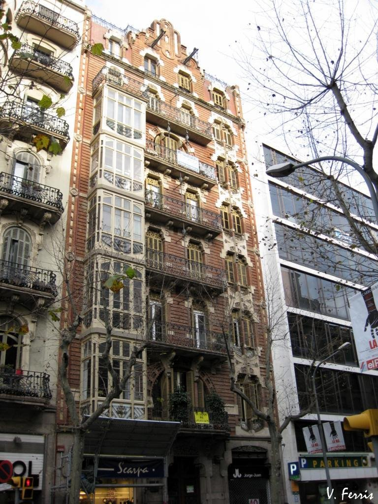Casa dom nech i estap barcelona modernista - Casa modernista barcelona ...