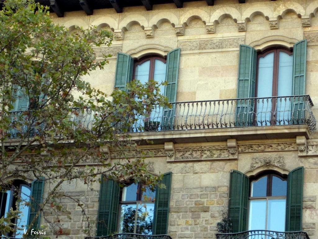 Casa camil mulleras barcelona modernista - Casa modernista barcelona ...