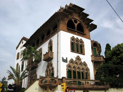 Casa roviralta frare blanch barcelona modernista - Casas modernistas barcelona ...